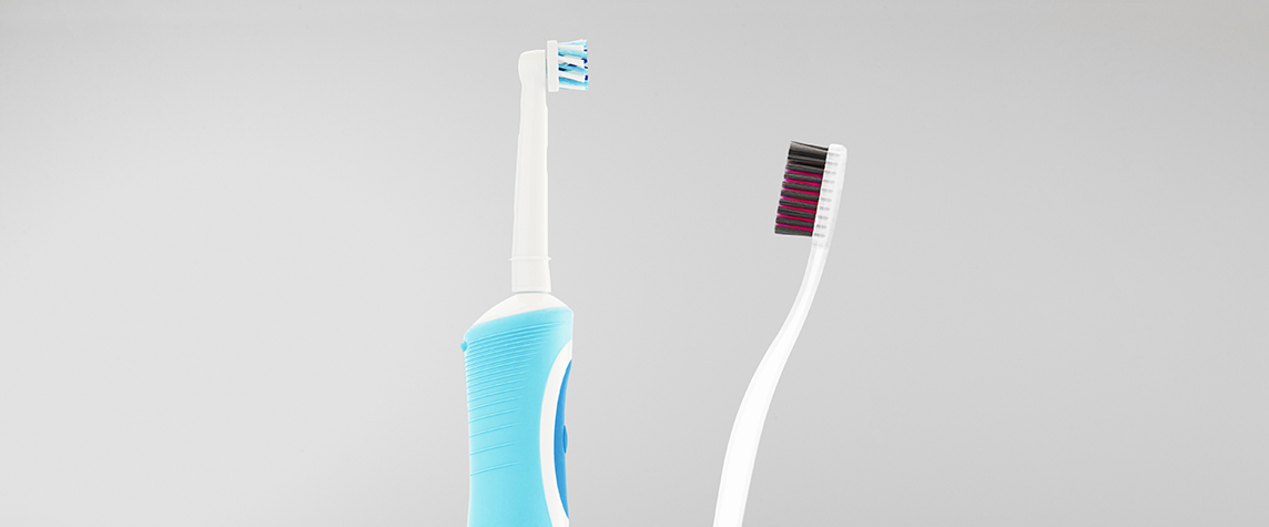 Electric vs manual toothbrush Stonegate Dental