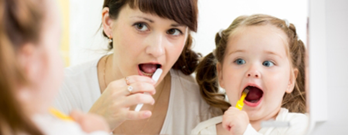 Parent and Child Teeth Stonegate Dental